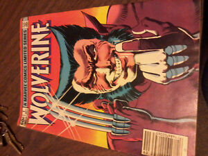 Wolverine issue 1, key issue. first Wolverine solo comic