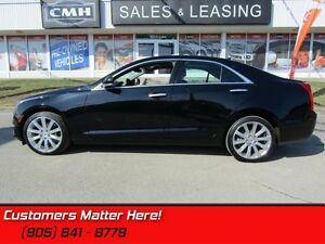 2014 Cadillac ATS 2.0 Turbo Luxury   AWD, LEATHER, NAVIGATION, S