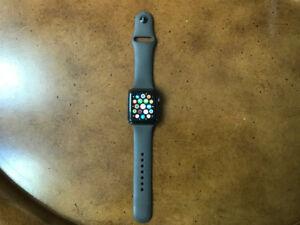 Apple watch series 3 42 mm noire aluminium