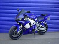 Yamaha YZF R1 2002 Blue / White Free UK Mainland Delivery