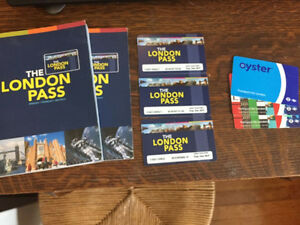 London Pass - pass to attractions in London, England + Oyster