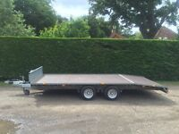 Ifor Williams lm166G beavertail 3.5T trailer