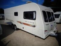 Bailey Unicorn Barcelona 2011 4 Berth Fixed Bed Twin Axle Touring Caravan