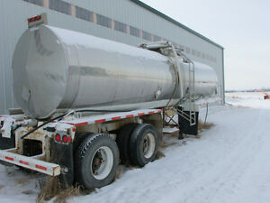 Stainless Steel Potable Water Trailer