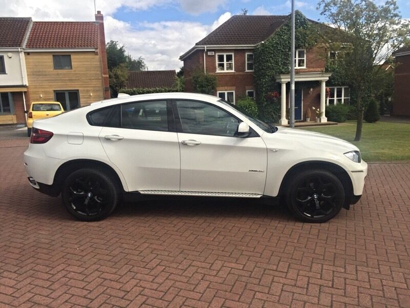 bmw x6 xdrive m sport white 2013 only 50k miles full bmw history best available in. Black Bedroom Furniture Sets. Home Design Ideas