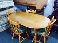 Table and 4 chair