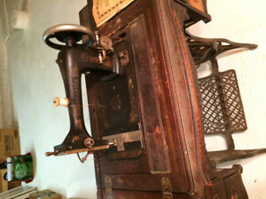 Antique Minnesota Treadle Sewing Machine