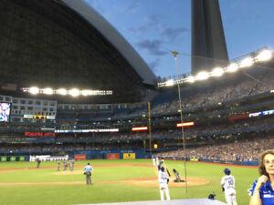 Toronto Blue Jays vs Oakland As Tickets TD Club and 100L Premium
