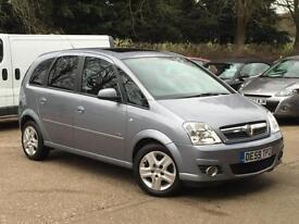 2009 Vauxhall Meriva 1.4i 16v ( a/c ) ( Exterior pk ) Design only 45,227 Miles!!
