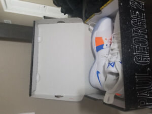 Selling Men's Paul George 2 Basketball Shoes White/Ice