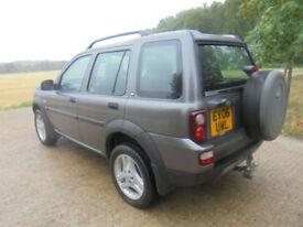Land Rover Freelander 2.0Td4 auto 2005MY HSE