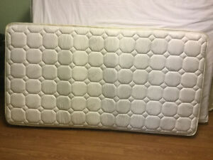 like new single mattress and boxspring free delivery