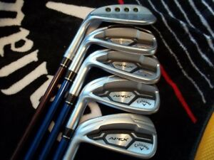 Callaway Apex CF16 7 au P + Wedge MD3 Milled gaucher...