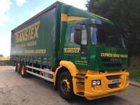 2009 59 Iveco Stralis 310 Euro 5 6x2 rear lift/steer 28ft curtainsider tail-lift