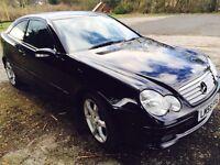 Mercedes c220cdi sport diesel automatic service mot £2795