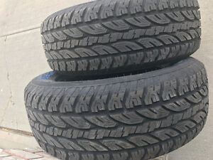 275 60 20 Never Installed 4Tires