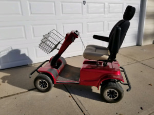 Pride Mobility Scooter - Wrangler model