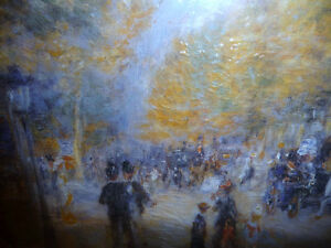 "Pierre Auguste Renoir ""The Boulevards"" Painted 1875 Art Print Stratford Kitchener Area image 4"