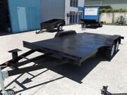 SALE ON NOW! 15FT 2800KG GVM FLAT DECK CAR TRAILER! Southport Gold Coast City Preview