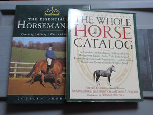 Whole Horse Catalog & Essentials of Horsemanship   Great Books.