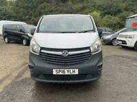 2016 Vauxhall Vivaro 1.6 2700 L1H1 CDTI P/V ECOFLEX S/S 118 BHP PANEL VAN Diesel