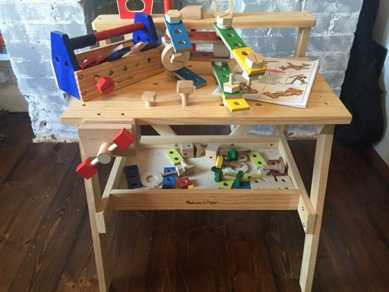 Stupendous Melissa And Doug Wooden Toy Tool Bench In Hove East Squirreltailoven Fun Painted Chair Ideas Images Squirreltailovenorg