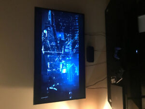 Tv mount installation and furniture assembly
