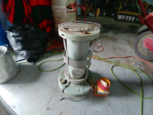 Antique heater-cooker plus brand new wick