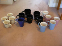 15 assorted used mugs (some are sets of 4)