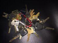 Lost keys found!