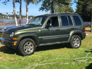 2007 Jeep Liberty Low KM !!! recent Safety done