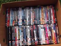 120 DVDs For Sale! Action, Comedy, Horror and More!