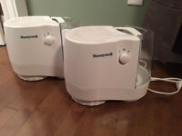 2 Honeywell Humidifier
