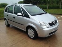 2005 Vauxhall Meriva 1.8 i 16v Enjoy 5dr Clean Tidy Car