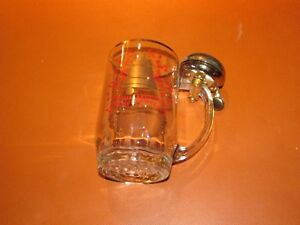 Beer mug with a bell so you can ring for service