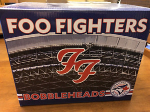 Foo Fighters Blue Jays bobbleheads looking for