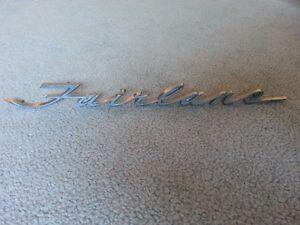 """""""FAIRLANE"""" SCRIPT EMBLEM & MORE Regina Regina Area image 1"""