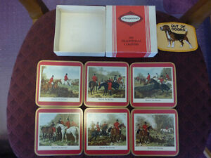 Coasters by Pimpernel with a Hunting Theme