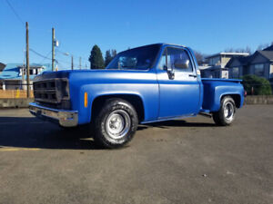 1976 Chevrolet C10 Stepside Short-bed