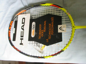 Badminton racket and accessories