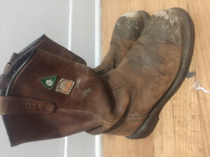 Used work boots