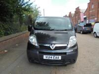 Vauxhall Vivaro 2.0CDTi ( 115ps ) 2014 / 14 Reg LWB NO VAT