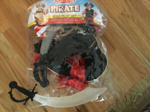 Pirate Halloween suit...Doug and Melissa brand 3-6 years