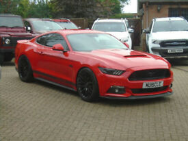 2016 Ford Mustang 5.0 V8 Manual (Custom Pack) Fastback GT 460 BHP ( 7000 Miles )