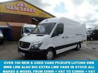2014 63 MERCEDES-BENZ SPRINTER 2.1 313 CDI MWB 129 BHP (( LOW MLS ONLY 57000 )