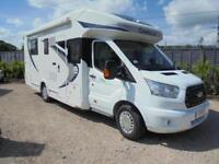 2016,CHUASSON FLASH 718 EB, ISLAND BED, 4 BERTH, GARAGE, 3,281 MILES, IMMACULATE