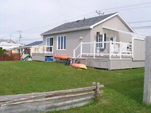 maison meublée à louer (bord de mer)