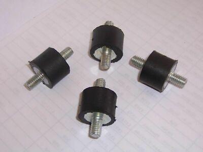 Set Of 4 Rubber Vibration Isolator Mounts For Fan Blowers