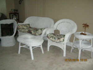 White Wicker Furniture