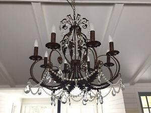 beautiful rustic chandelier